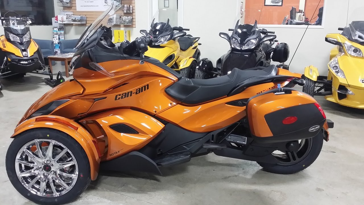 2014 can am spyder st limited first look youtube