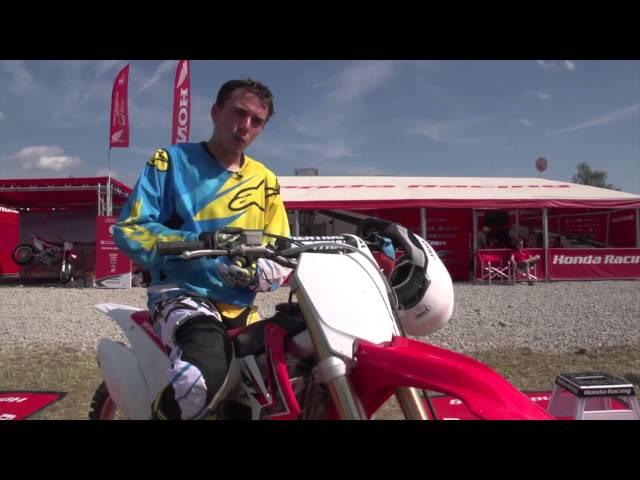 Vid�o Essai Honda CRF 250 R : Enfin de nouvelles sensations !