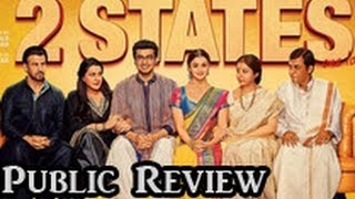 2 States - 2 States Public Review | Hindi Movie | Arjun Kapoor, Alia Bhatt, Amrita Singh, Ronit Roy