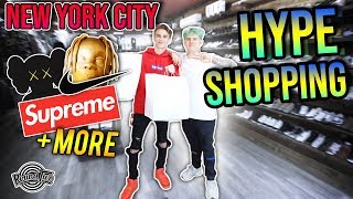 GRAIL HUNTING Hypebeast Shopping in New York City!