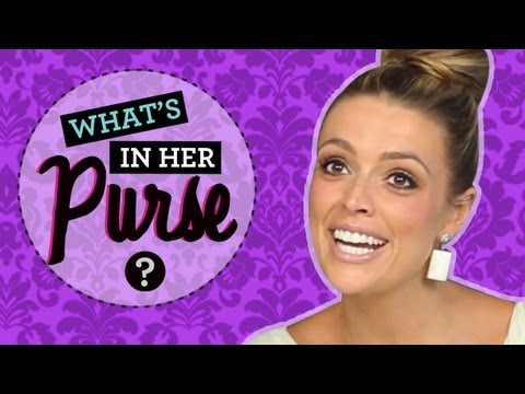 What s in Her Purse with Dana Ward from ClevverTV!