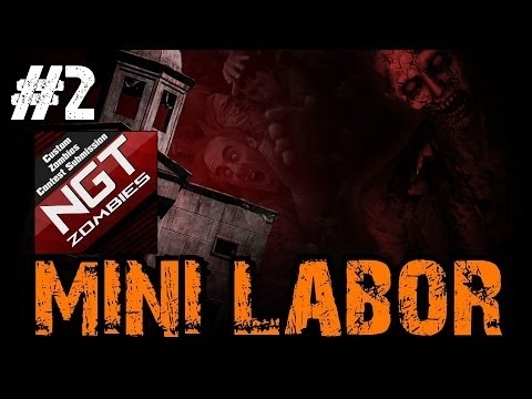 Custom Zombies - Mini-Labor | So Much Epicness in this Map! (Part 2)