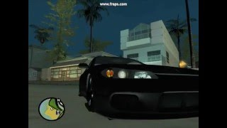 Nissan Silvia And Pagani Zonda F GTA SA Mods