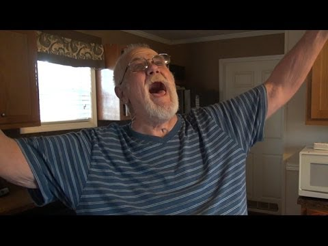 GRANDPA QUITS SMOKING!!