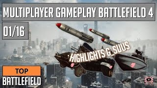 Top Battlefield 4 -- Multiplayer Gameplay G_SuuS -- 01
