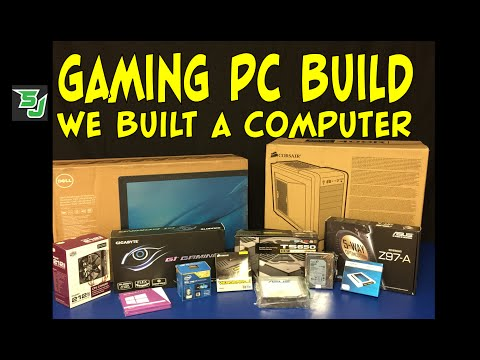 Gaming PC Review. Unboxing and Build