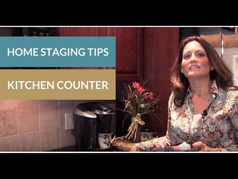 Home Staging Kitchen Counter Tips Youtube
