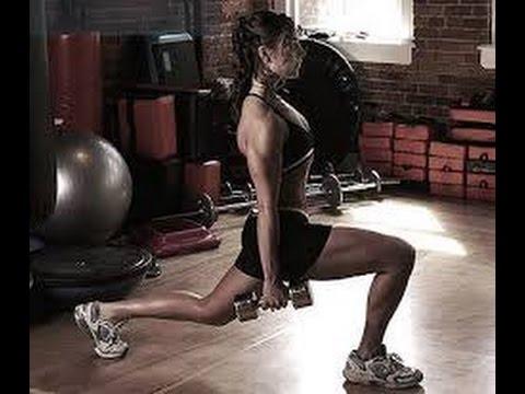 Скачать видео уроки фитнес дома. Упражнения для диска здоровья.