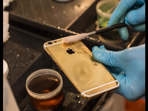 How to Gold plating an iPhone 6