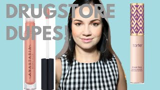 5 DRUGSTORE DUPES FOR HIGH END MAKEUP