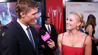 Chris Zylka Says He Learned a Lot From Andrew Garfield