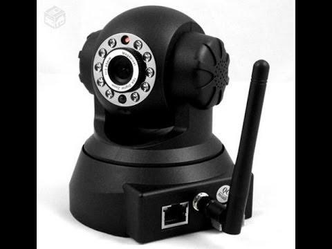 Configurar câmera IP + Acesso remoto+ WIFI - MODELO 2