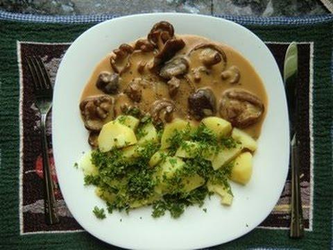 Как готовить грибы шиитаке - видео