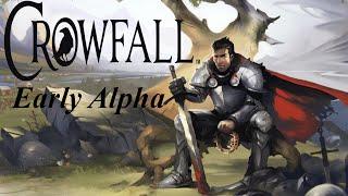 Let's Play Crowfall [PRE-ALPHA] German/Deutsch #001 Ein erstes Game - Legionnaire&Knight