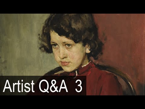 4 Qualities of Good Realism & more – Ep.3 Oil Painting Q&A with Mark Carder