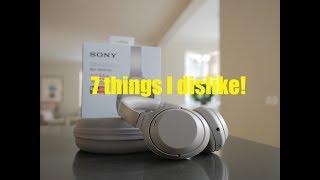 Sony WH-1000XM3 things i dislike