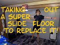 Joe's RV DIY | Replacing a Rotten Slide Floor