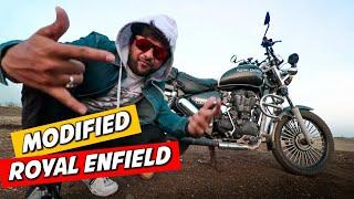 MODIFIED ROYAL ENFIELD THUNDERBIRD