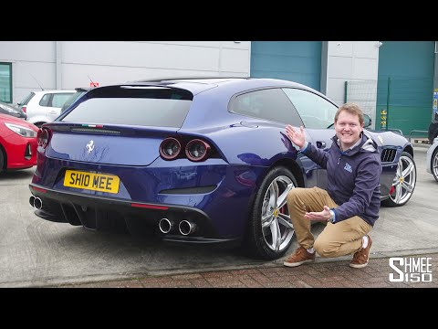 My 170mph Ferrari GTC4Lusso Autobahn Road Trip!