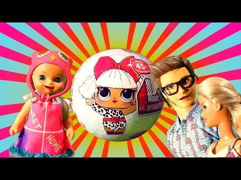 Мультик Барби: Лол сюрприз для Люси из магазина игрушек - видео игра для детей с куклами и игрушками