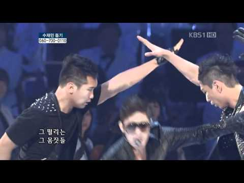 2011.07.31 Kim Hyun Joong  - Break Down  Kbs Open Concert video