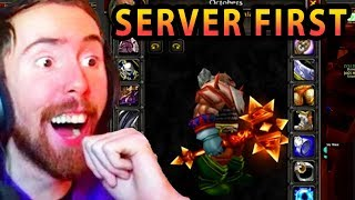 Asmongold Hosts The Biggest Event In WoW Classic History Creating Server First Legendary
