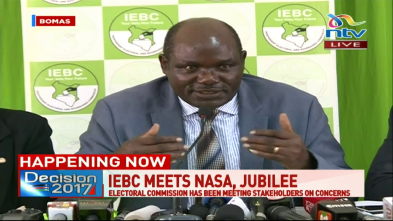 Hope as Jubilee Party, NASA leader Raila Odinga meet IEBC over stalemate