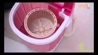 R for Rabbit Rolly Polly Mini Washing Machine For Baby Garments.