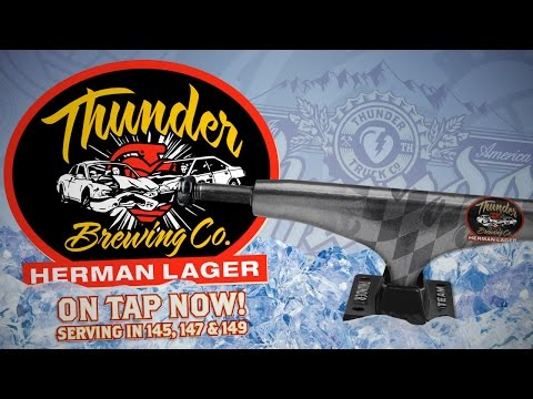 Thunder Brewing Co. - Herman Lager On Tap Now!