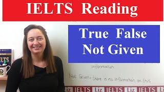 IELTS Reading Tips: True False Not Given