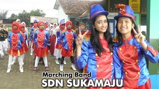 Team Marching band SDN SUKAMAJU beraksi