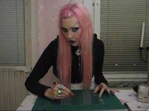 Goth girls and razor knives Video