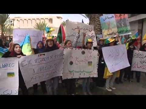 Minority Community Protests in Libya