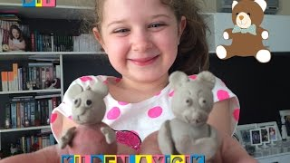 DIY Kil hamurundan ayıcık yapımı- make bear with clay