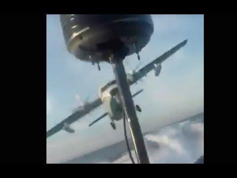 طائرة تطارد زورق حشيش بالمضيق