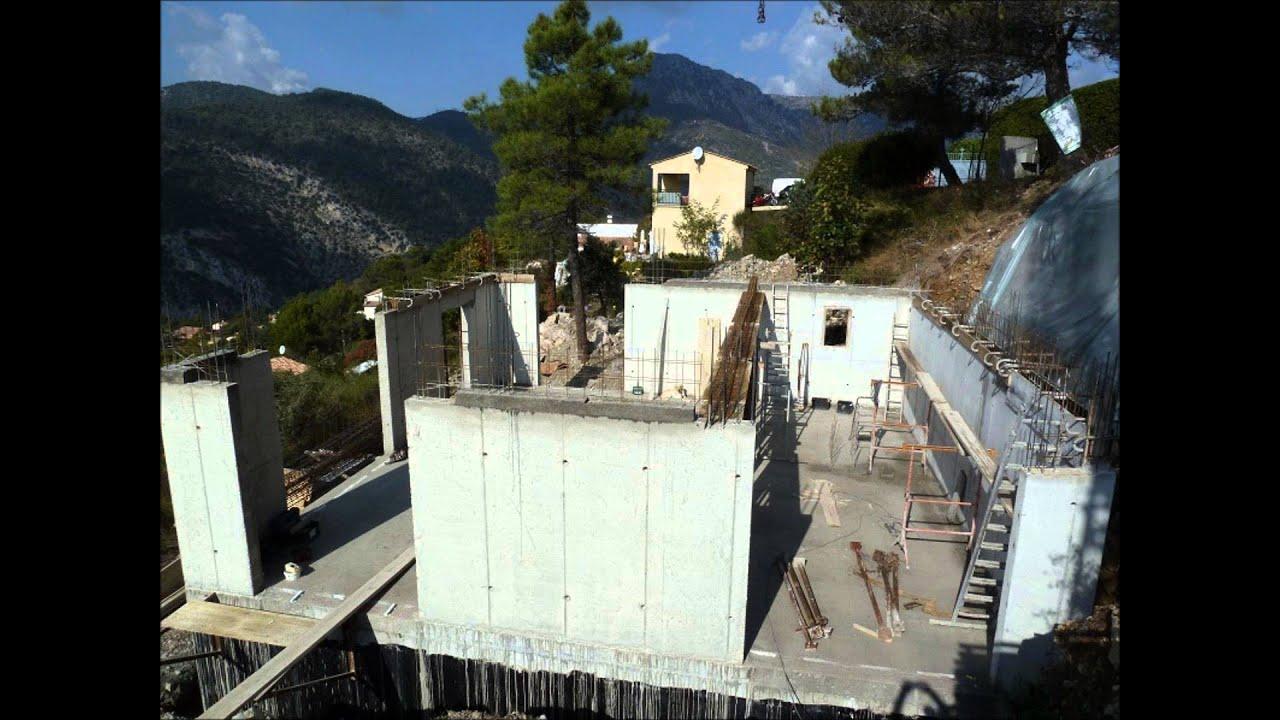 2f constructions maison individuelle en b ton arm youtube - Maison en beton arme ...