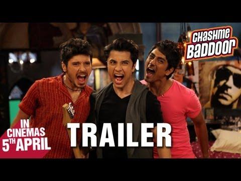 Chashme Baddoor - Official Trailer | Ali Zafar Divyendu Sharma...