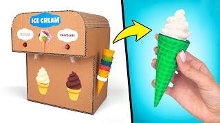 DIY Double Ice Cream Machine From Cardboard