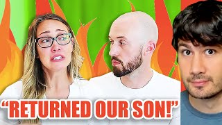 Myka Stauffer Returns Adopted Chinese Son After Using Him For Clout