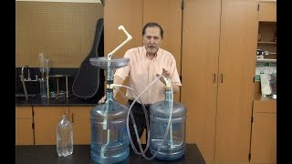 Water Demonstrations part two--Hero's Fountain // Homemade Science with Bruce Yeany