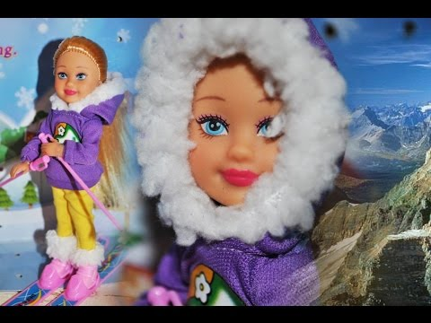 ♥Кукла Дефа Маленькая Лыжница Игровой набор♥ Doll Defa Little Skier Game set