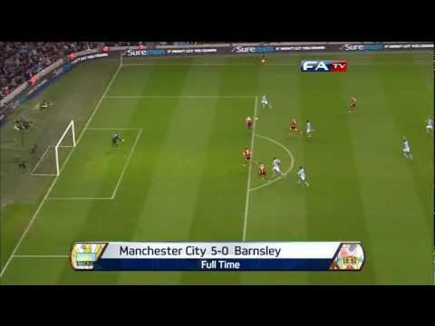 Manchester City 5-0 Barnsley, FA Cup Sixth Round | FATV