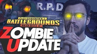 PUBG MOBILE LIVE: ZOMBIES RPD BUILDING RAID | NEW UPDATE | RESIDENT EVIL 2
