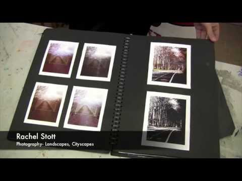 Showcasing GCSE Art Students Sketchbooks