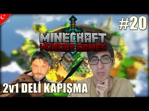 Minecraft Türkçe Hunger Games - 2v1 Dövü?! - Bölüm 20