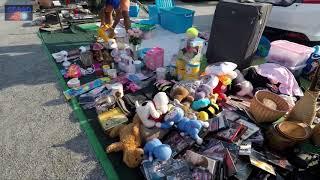ตลาดคลองถม นินจา แยกพลับพลา   ชลบุรี  Ninja market   Thailand.2019