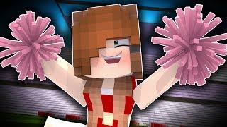 TINA'S A CHEERLEADER !? - Minecraft Friends (Minecraft Roleplay)