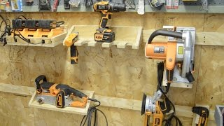 Building a French Cleat System for Power Tools | How To