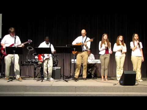 CFCA Praise and Worship Band @ Central Florida Christian Academy State of the School Address - 03/02/2013