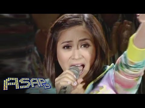 Sarah Geronimo Sings 'brave' On Asap video